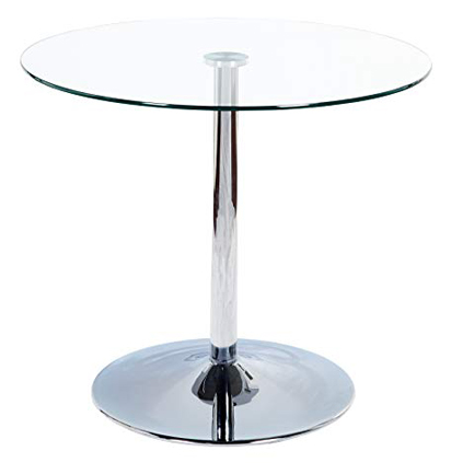 Target Marketing System Pisa Modern Retro Round Dining Table