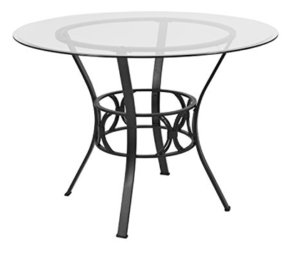Flash Furniture Carlisle 42'' Round Glass Dining Table