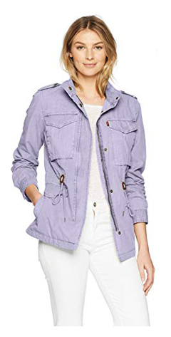 Levi's Women's Parachute Cotton Military Jacket