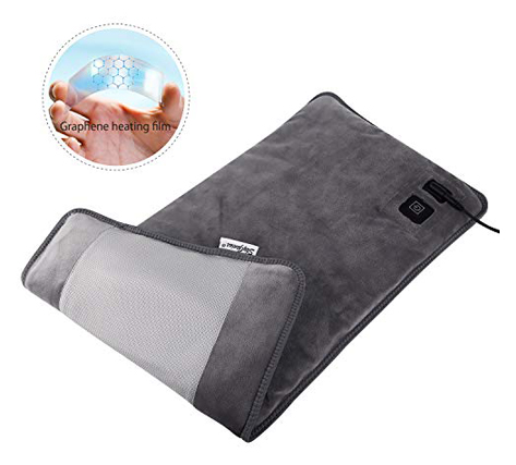 Far Infrared Electric Heating Pad for Back Pain